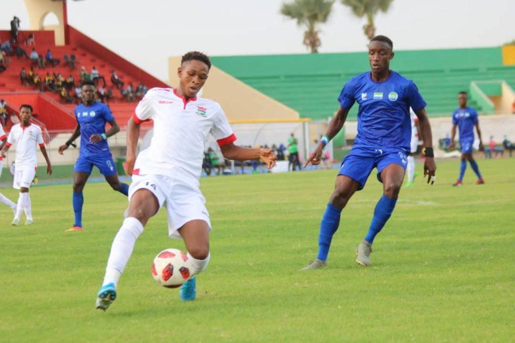 Lamarana Jallow Vs Senegal 1